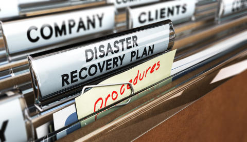 Confidence in disaster recovery plans falls for second consecutive year