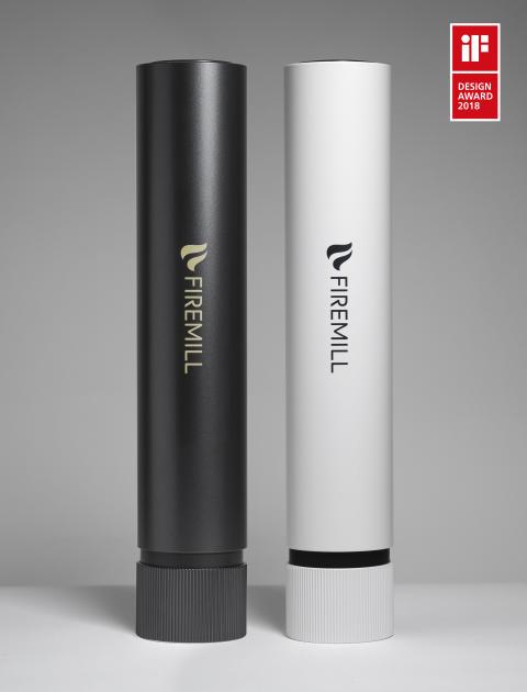 Designpris till brandsläckaren Firemill