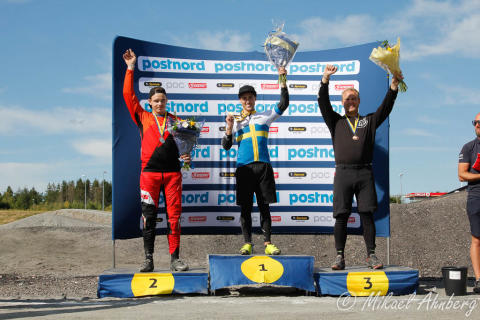 Filip Svanberg svensk mästare i BMX 2018