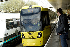 Wi-Fi tram test-trial on track for Metrolink