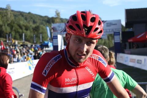 Sondre Kristiansen etter 13. plass med VM U23 Hafjell