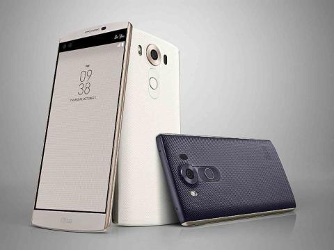 LG V10 – to skærme i én