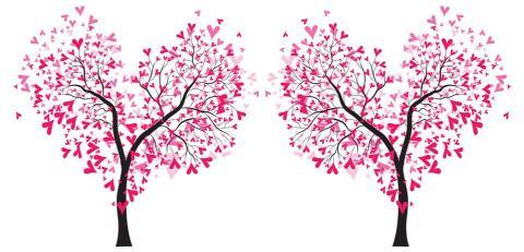 Det är kärlek i luften!