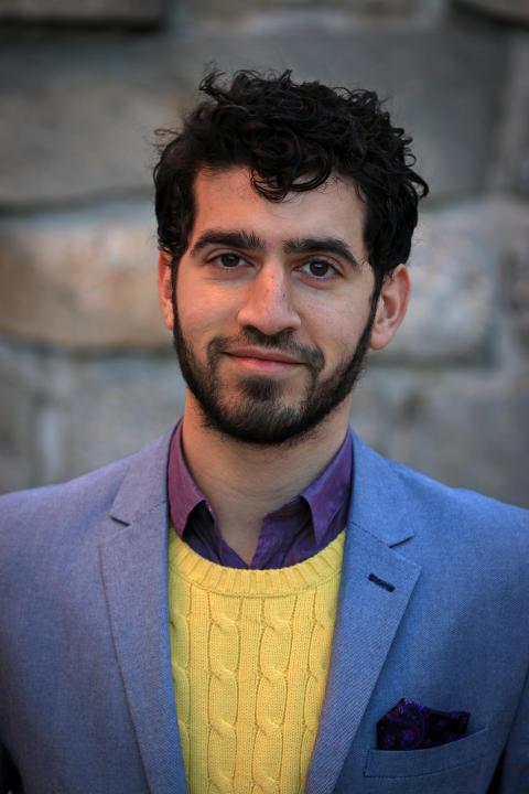 Payam Moula, etikforskare på KTH. Foto: Peter Larsson.