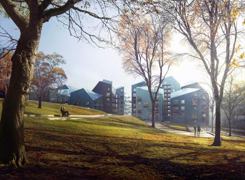 Wåhlin bygger i Hallonbergen