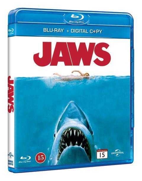 JAWS/Hajen på blu-ray™ för första gången den 22 augusti