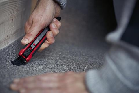 Hultafors lanserer favorittkniven til teppeleggere