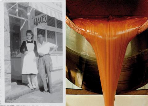 Mam Goudig – Mjuk fransk kola anno 1946 med ursprungsskyddat havssalt från Guérande