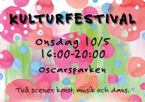 LindeDagen: Kulturskolan bjuder på kulturfestival i Oscarsparken