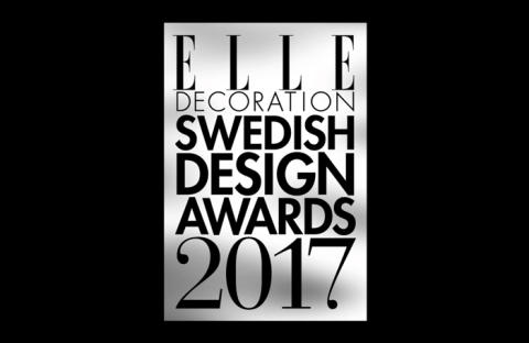 Carina Seth Andersson – Vinnare av Årets Designer  i ELLE Decoration Swedish Design Awards 2017