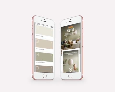 Jotun Sens digitalt fargekart