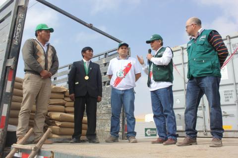 export preparations organic oregano Tacna Peru