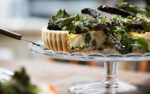 Marknadens första grönkål- och fetaostpaj till restaurang och storhushåll