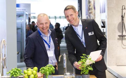 GROHE först i Sverige med kokande vatten direkt