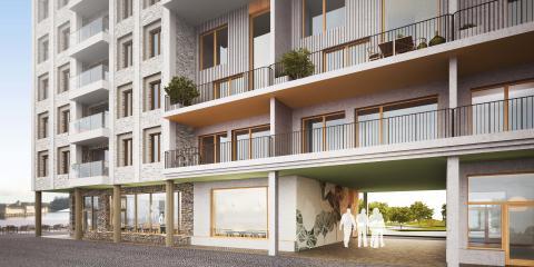Hökerum Bygg är med och skapar ny stadsdel i Varberg