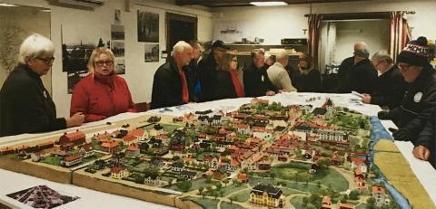 Bergslagens Sparbank stöttar modellstaden i Lindesberg