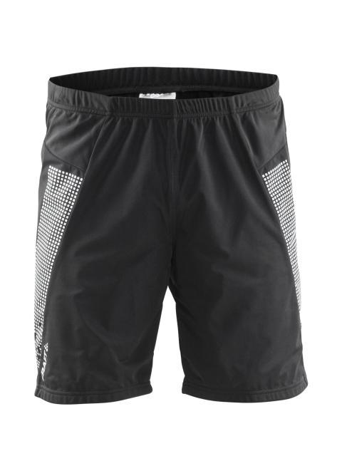 Cover warm shorts för herr, värmer om rumpan på löpturen