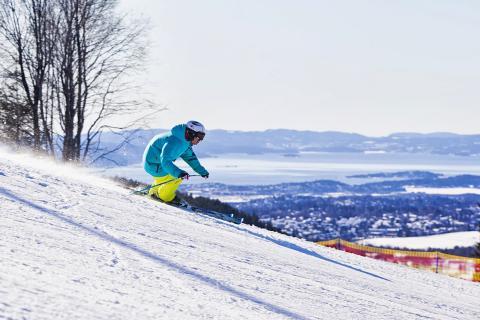 City skiing i Oslo Vinterpark