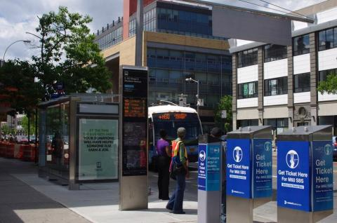 New York's bus stops get smart with new IoT technology