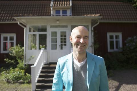 Pressträff med Mark Levengood och Astrid Lindgrens dotter Karin Nyman