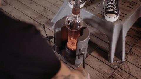 Ny chans att lägga rabarber på unika kaffeglas