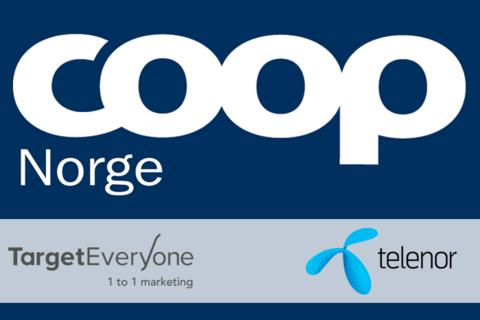 TargetEveryOne and Telenor sign agreement with Coop Norway