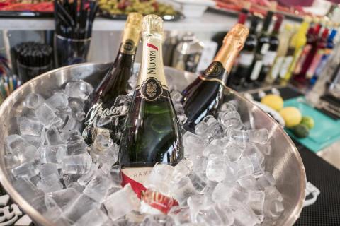 Ny champagnebar på Bromma Stockholm Airport