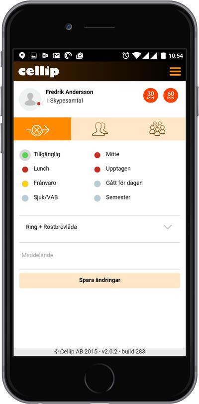 Cellip lanserar mobil växel integrerad med Skype för Företag