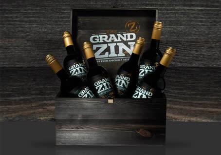 The Grand Zin i trälåda