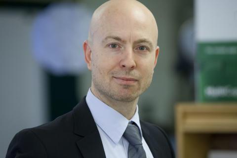 Ola Slettenmark, projektledare på Säkerhetsenheten Stadsledningskontoret