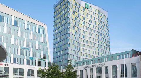 Fastighetsbyrån ordnar Öppet Hus för sina nyproduktionsprojekt på Quality Hotel View på Hyllie