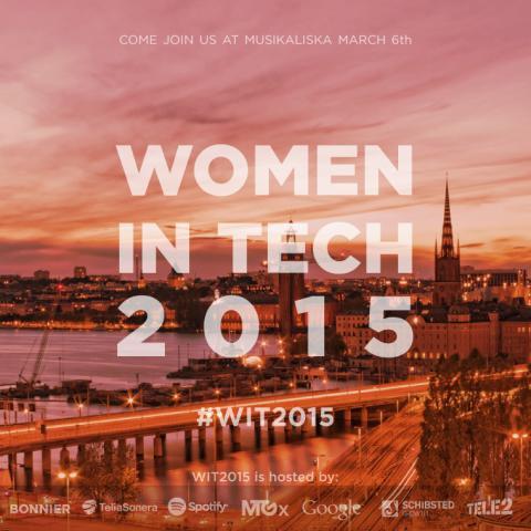 Viaplay will livestream Women in Tech 2015