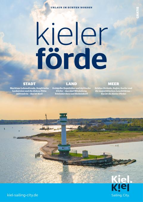 Neues Konzept für 2020: Imagemagazin Kieler Förde für Gäste