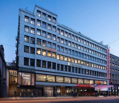 Kungshuset får nya hyresgäster - Reform Society hyr 877 kvm kontor på Kungsgatan 18 i Stockholm