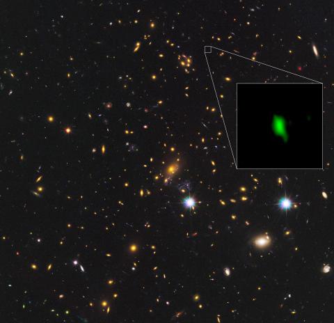 Jätteteleskop avslöjar stjärnbildning kort tid efter Big Bang
