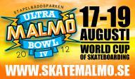 Malmö Ultrabowl IV - Världscuptävlingen i skateboard är avgjord