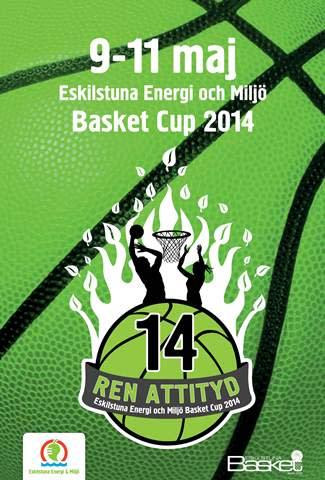 Eskilstuna Energi och Miljö arrangerar basketcup med Ren Attityd
