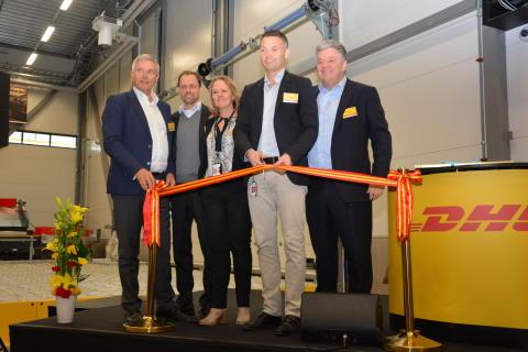 DHL invigde ny logistikterminal i Airport City