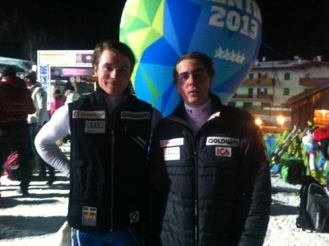 Steding 14:e i slalomen i Universiaden