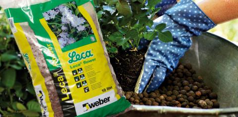 Få glade og sunde planter med Leca® flower