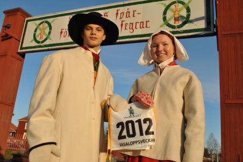 Kranskulla och kransmas utsedda till Vasaloppet och TjejVasan 2012