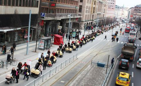På söndag marscherar stockholmarna mot mödradödlighet