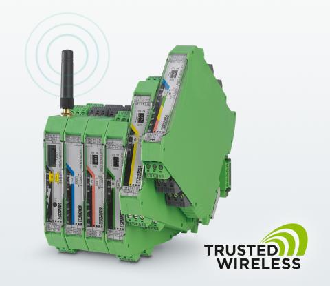 Radio Signal Connection via Modbus RTU