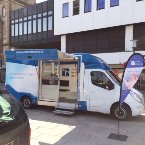 Beratungsmobil der Unabhängigen Patientenberatung kommt am 1. August nach Mönchengladbach.
