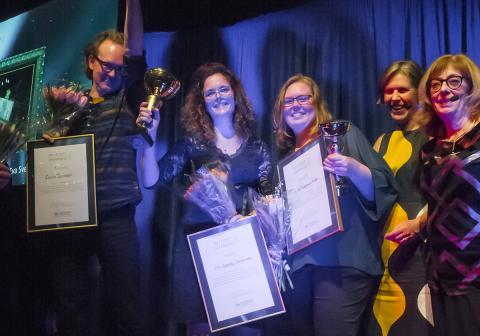 Elin och Eva – Sveriges nya mästare i konstinramning