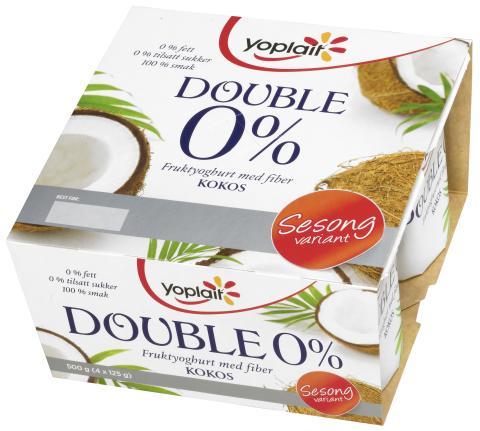 Sesongens smak fra Yoplait Double 0 %