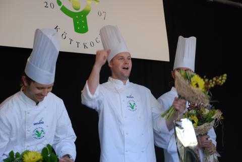 Tomas Diederichsen Sveriges Köttkock 2007