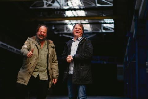 Rasmus Schrøder, Kulturværftet, og Hasse Jönsson, The Tivoli