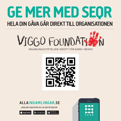 Viggo Foundation - Ge en gåva med SEQR