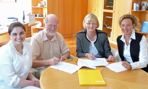 Konzessionsverlängerung: Bayernwerk und Gemeinde Weßling bleiben Partner